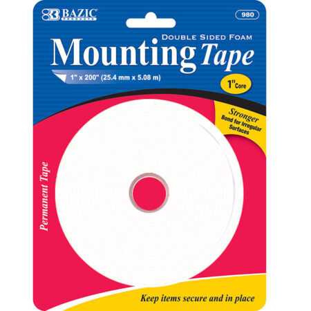cheap double sided foam mounting tape