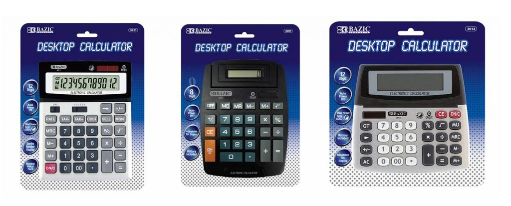calculators-wholesale