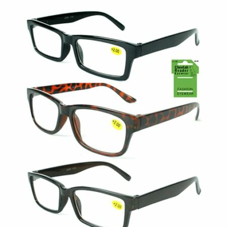 inexpensive reading glasses, plastic frames, unisex styles