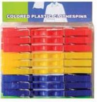 Plastic Clothespins 48PC