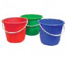 Plastic Pail with Handle