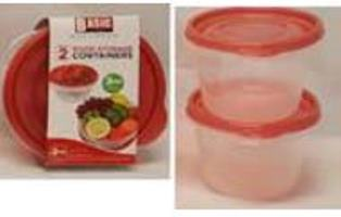 ROUND STORAGE CONTAINERS(720ML)-2PK