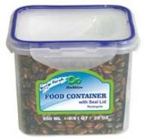 Rectangular Container with Click Lock 29oz