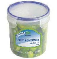 Round Container with Click Lock 24oz