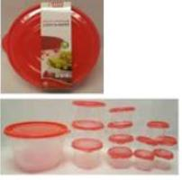 Round food storage set-26 PCs