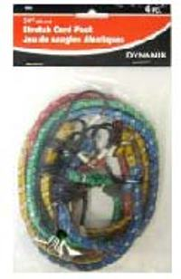 BUNGEE CORD 24 INCHES PACK 4PC
