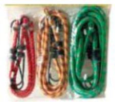 BUNGEE CORDS 6PC