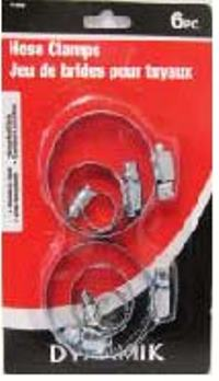 DELUXE HOSE CLAMPS 6PC
