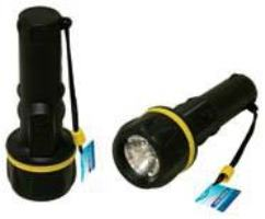 Flashlight Torch with Rib Grip