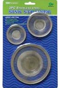 Sink Strainers 3PC