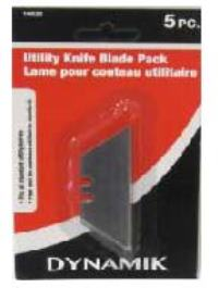 UTILITY KNIFE BLADE PACK 5PC