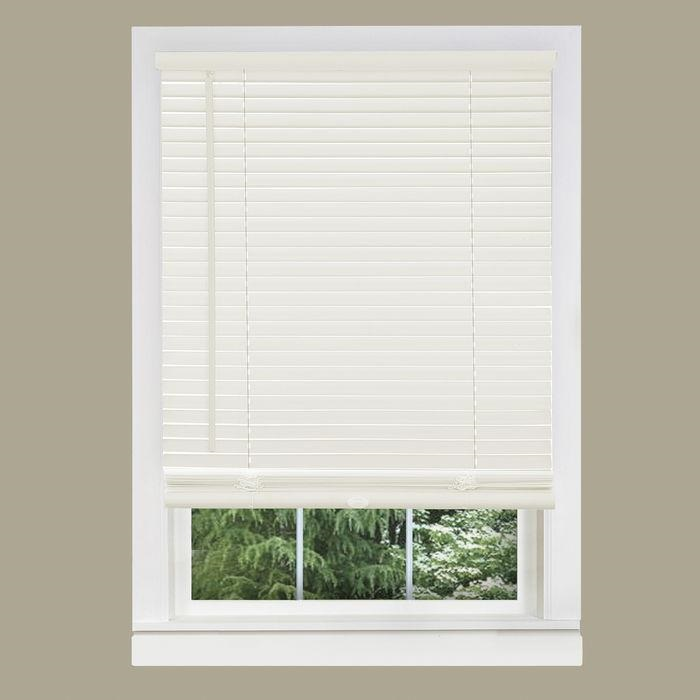 Cheap Vinyl Mini Blinds 29x64 Cordless Window Blinds Wholesale Price