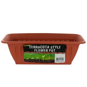 plastic window box planter