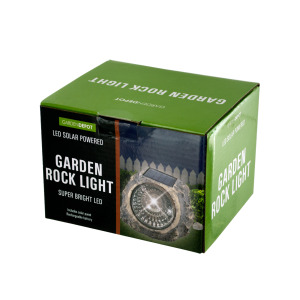 wholesale solar led garden rcok light