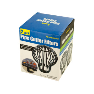pipe gutter filters