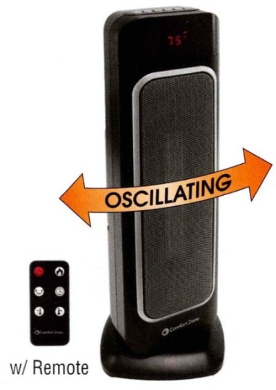 Wholesale Oscillating Tower Heater-Fan