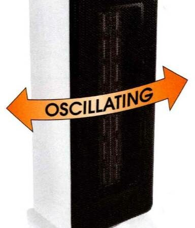 Fashion Oscillating Ceramic Tower Heater