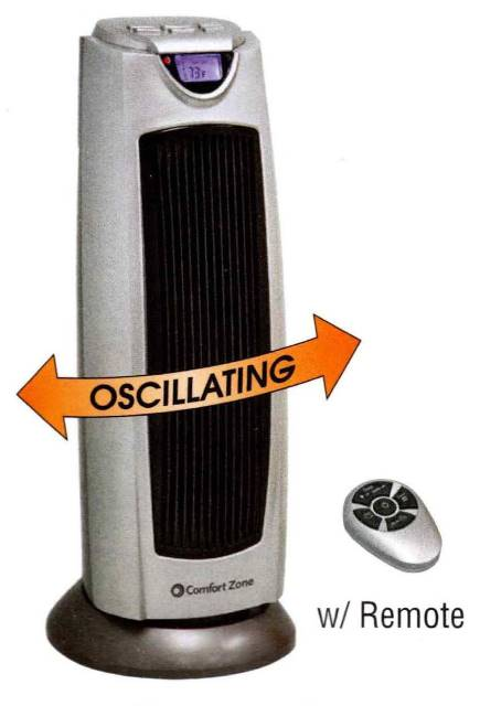 Wholesale Oscillating Ceramic Tower Heater with Remote