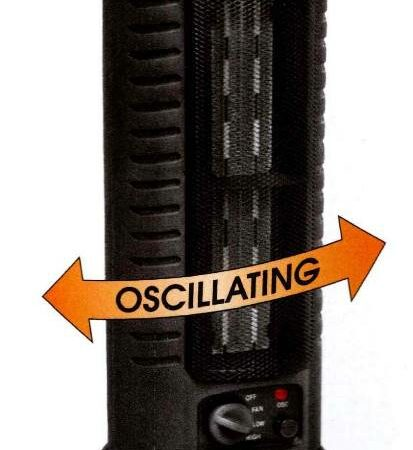 Standard Oscillating Tower Heater