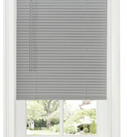 Mazer Wholesale Mini Blind - Gray