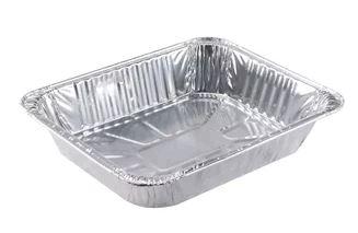 half size aluminum pan deep