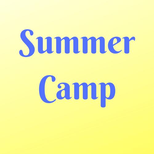 Summer Camp Supplies