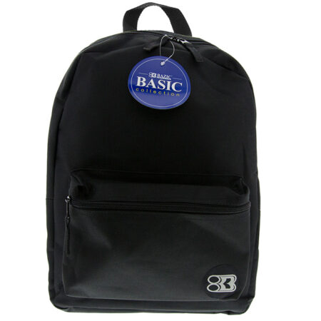 "17"" black backpack"