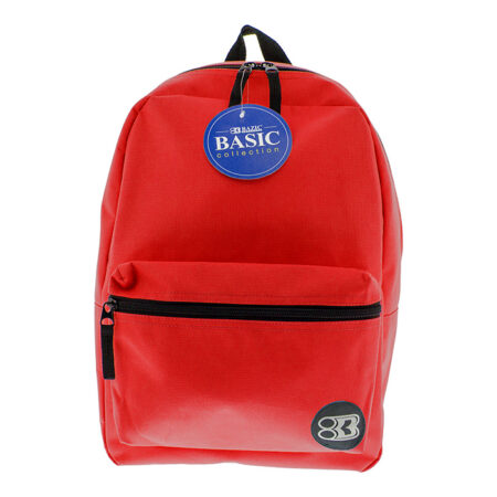 "16"" red backpack"